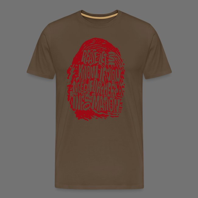 Fingerprint DNA (red)