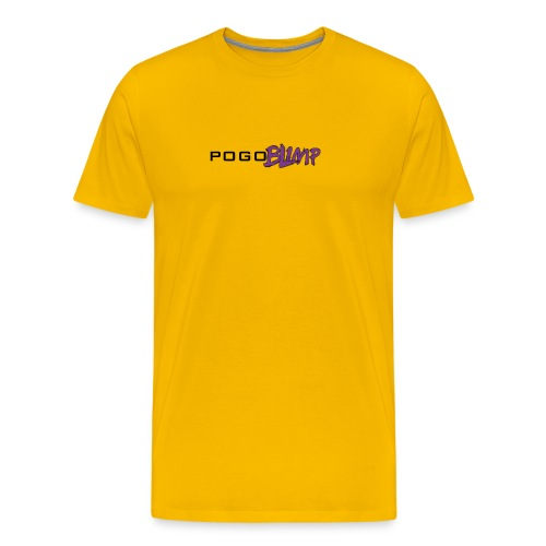 pogoblimp-logo - Men's Premium T-Shirt