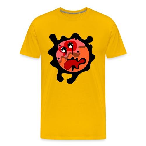 scary cartoon - Mannen Premium T-shirt