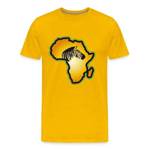 Afrikas Tierwelt Zebras Wildlife Safari Savanne - Men's Premium T-Shirt