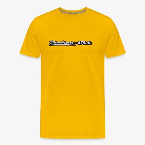 Aufkleber grau Kopie png - Männer Premium T-Shirt