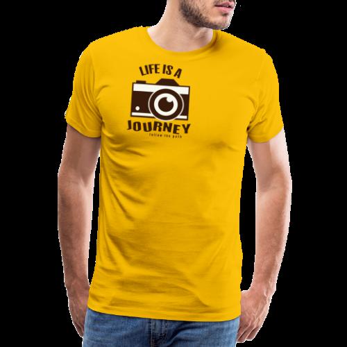 Life is a Journey - Männer Premium T-Shirt