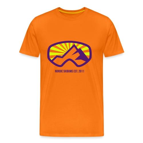 Nordic skibums sunrays - Men's Premium T-Shirt