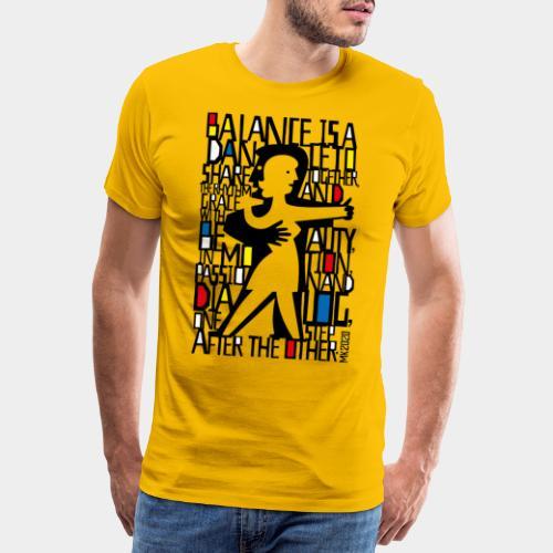 danseurs de musique de danse - T-shirt Premium Homme