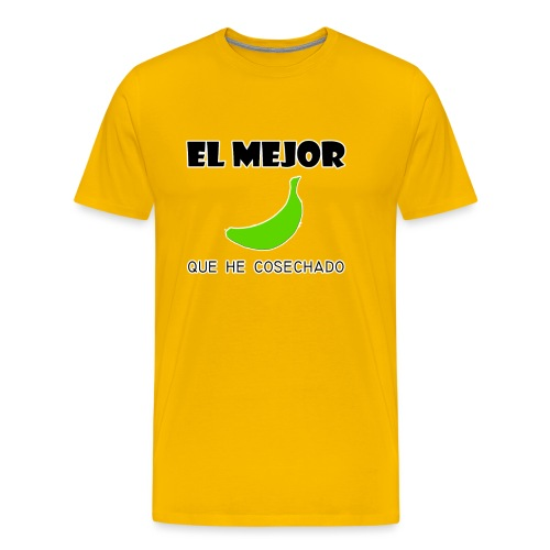 plátano verde - Camiseta premium hombre