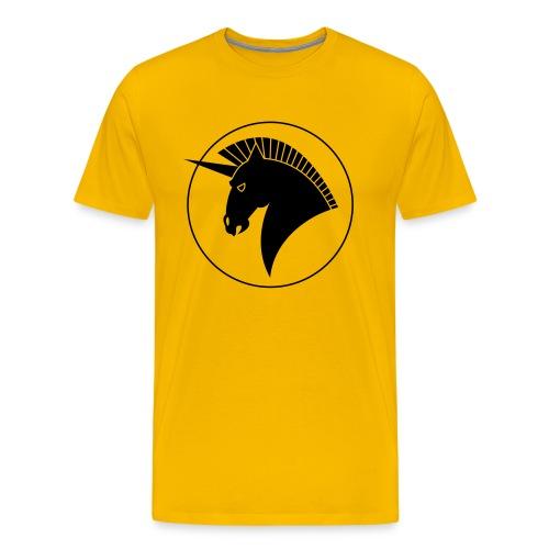 1hornringffa600 - Männer Premium T-Shirt