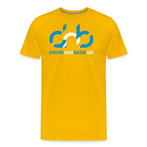 drumandbass de logo url - Männer Premium T-Shirt