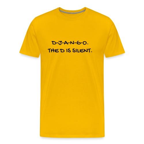 Cinema - Quotes - Film - Citations - Zitat - Humor - Men's Premium T-Shirt