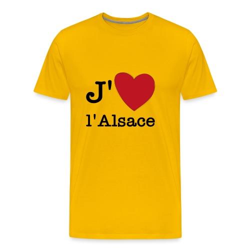 jaimealsace - T-shirt Premium Homme