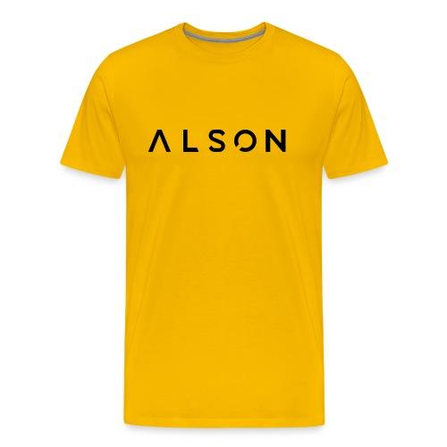 alson logo - Mannen Premium T-shirt