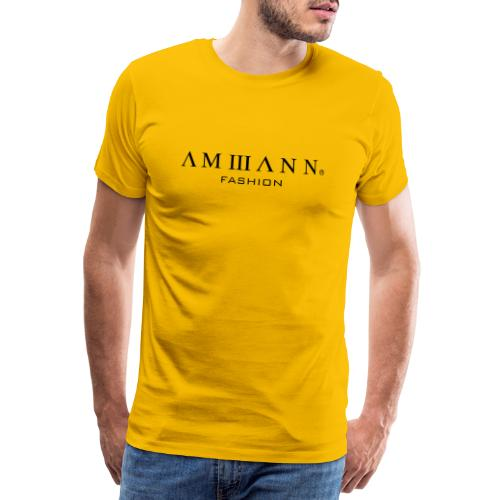 AMMANN Fashion - Männer Premium T-Shirt