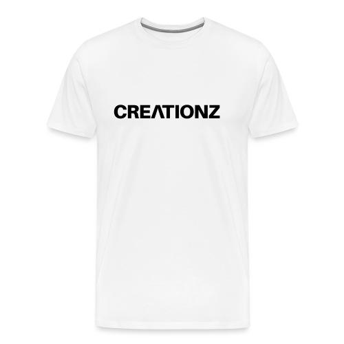 WOORDMERK PUNT NL ZWART - Mannen Premium T-shirt