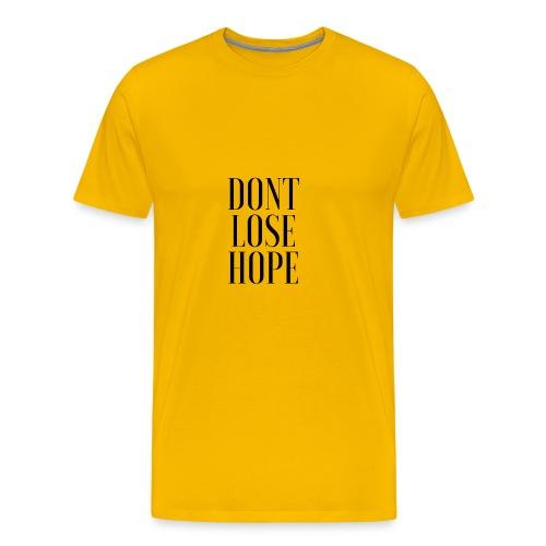 Marvin Lara - Dont Lose Hope - Camiseta premium hombre