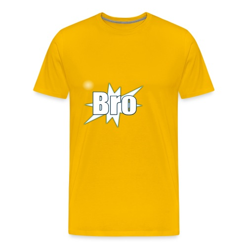 Bro hats and shirts - Herre premium T-shirt