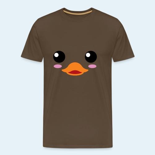 Pato bebé (Cachorros) - Camiseta premium hombre