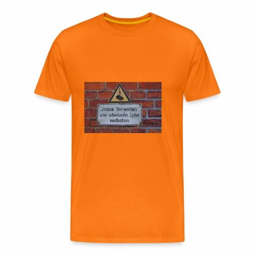 Original Artist design * Jedes Verweilen - Men's Premium T-Shirt