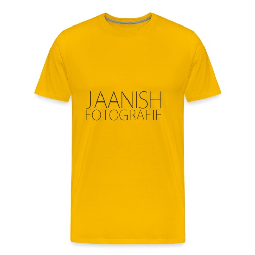 LOGO JAANISH PNG - Mannen Premium T-shirt