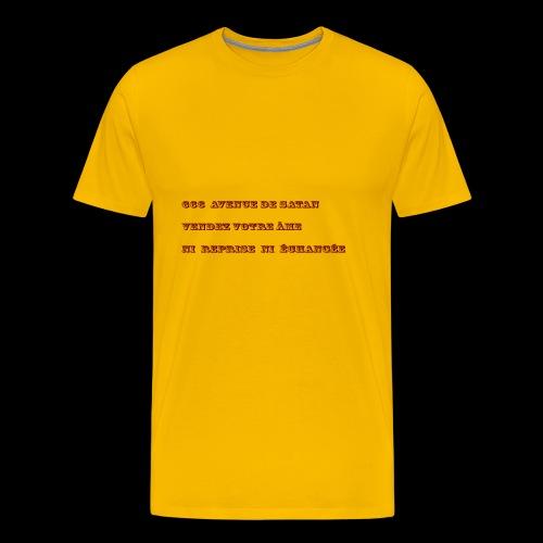 666 - T-shirt Premium Homme