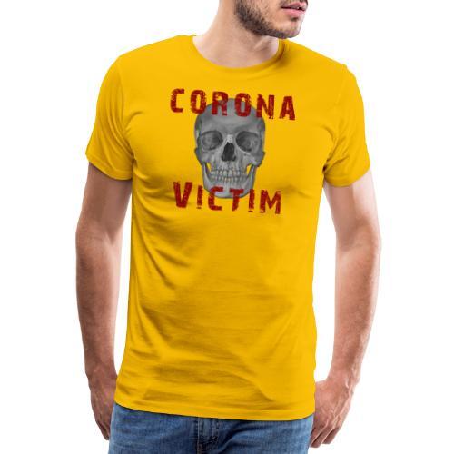 Corona Victim - Männer Premium T-Shirt