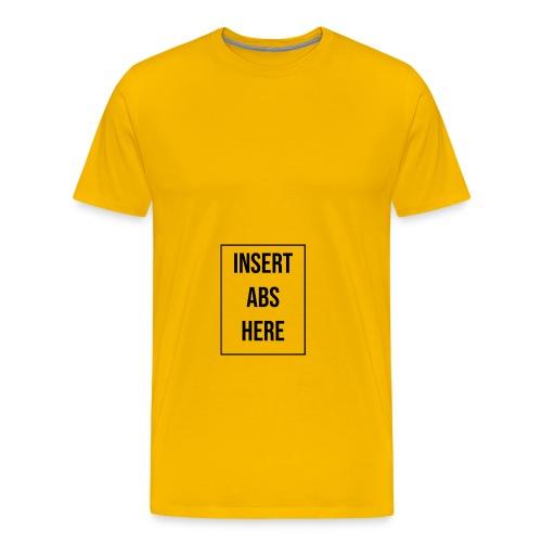 abs - Camiseta premium hombre