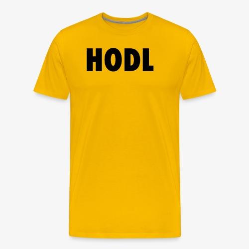 JUST HODL - Mannen Premium T-shirt