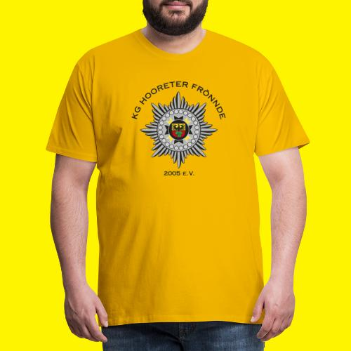 Schwarze Schrift - Männer Premium T-Shirt