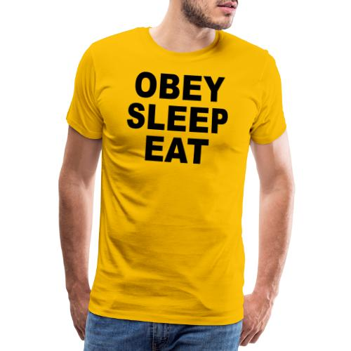 obey sleep - T-shirt Premium Homme