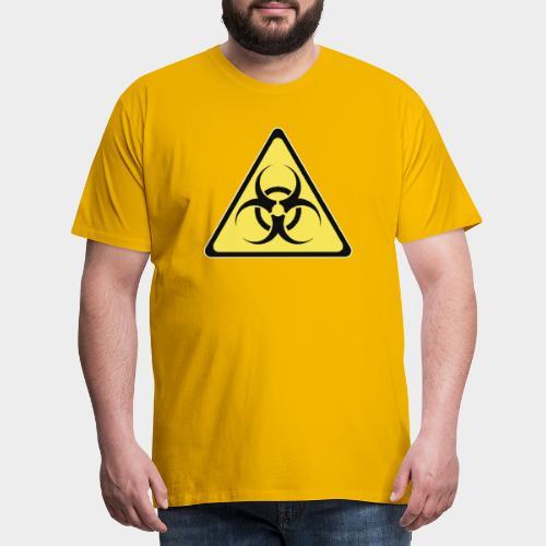SEÑAL BIOHAZARD - Camiseta premium hombre