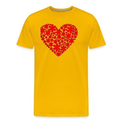serce - Koszulka męska Premium