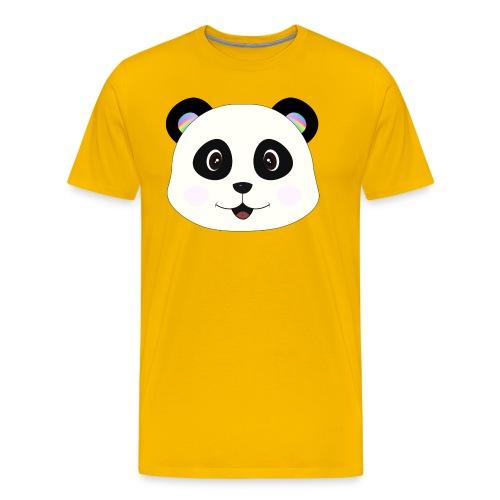 panda rainbow - Camiseta premium hombre