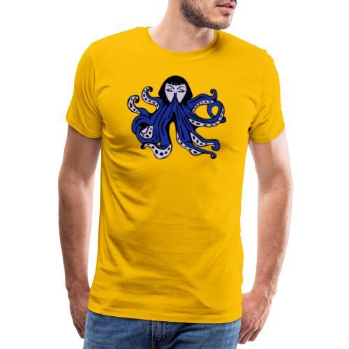 Octopus Face - Men's Premium T-Shirt