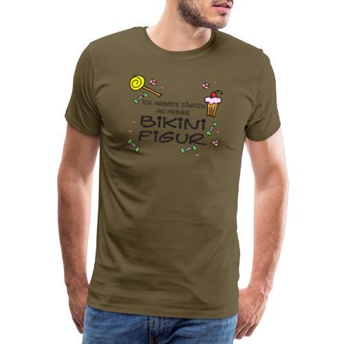 Bikinifigur - Männer Premium T-Shirt