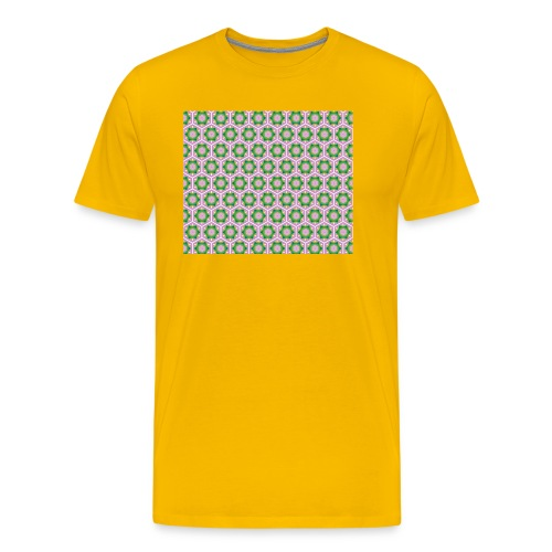 Korean Pattern - Männer Premium T-Shirt