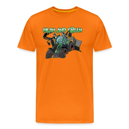 F 718Vario mean and green - Mannen Premium T-shirt