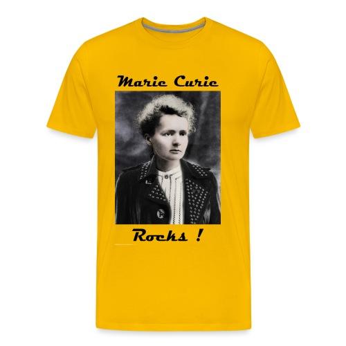marie-curie-rocks - T-shirt Premium Homme