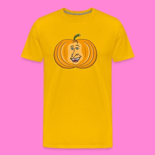 Rick pumpkin - Mannen Premium T-shirt