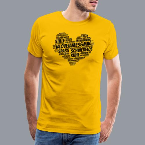 #lovejames&mac - Männer Premium T-Shirt