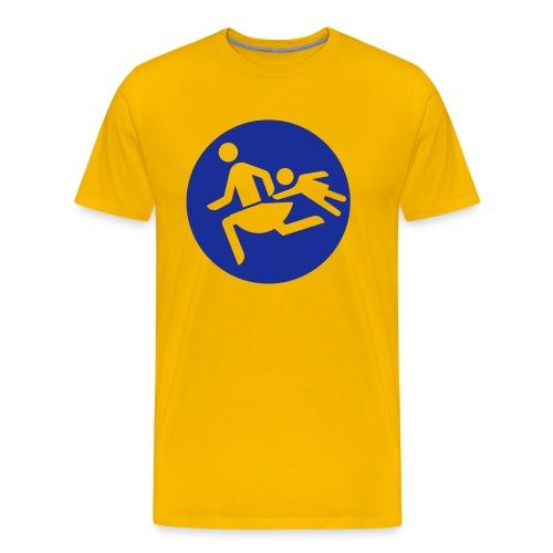 Running Mamas - Männer Premium T-Shirt