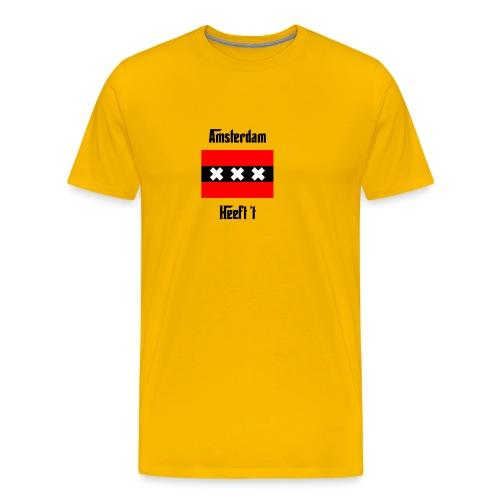 amsterdamontwerp png - Mannen Premium T-shirt