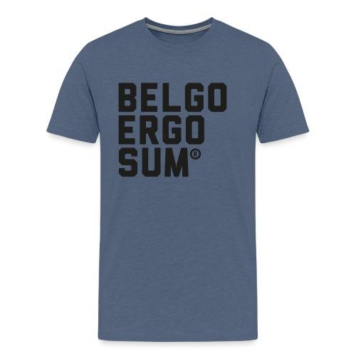 Belgo Ergo Sum - Men's Premium T-Shirt