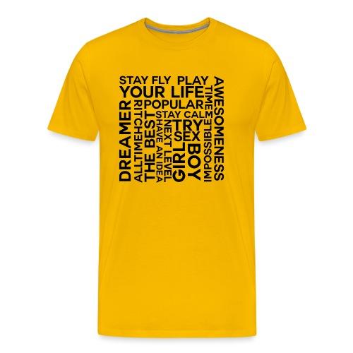 heilll png - Männer Premium T-Shirt