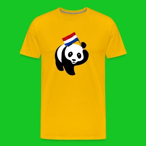 Nederlandse Panda png - Mannen Premium T-shirt