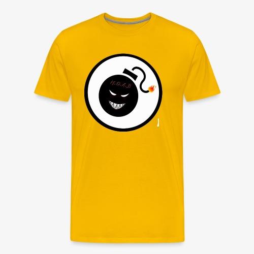 LeeMcG - MOAB Logo - Men's Premium T-Shirt