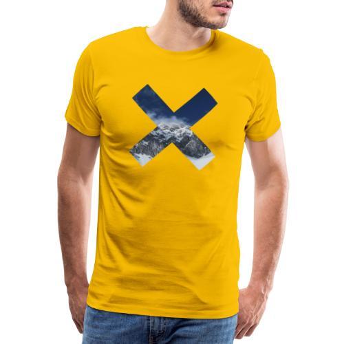 PV tshirt X snow mountain png - Männer Premium T-Shirt