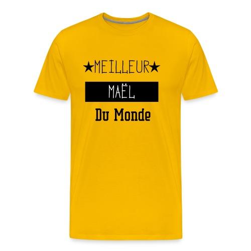 Meilleur Maël du Monde - T-shirt Premium Homme