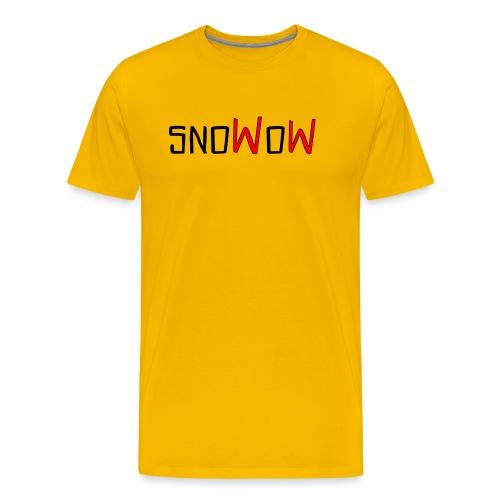 Snowow - Camiseta premium hombre