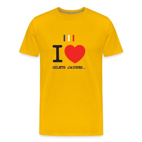 giletsjaunes - T-shirt Premium Homme