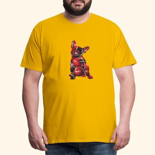 Cherry frenchie - Men's Premium T-Shirt