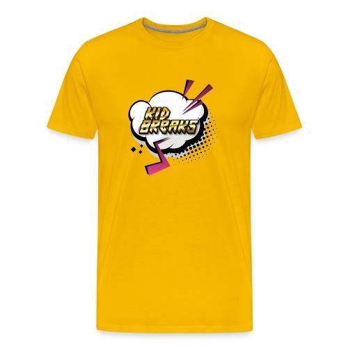 Kid Breaks Flash Art Logo - Men's Premium T-Shirt