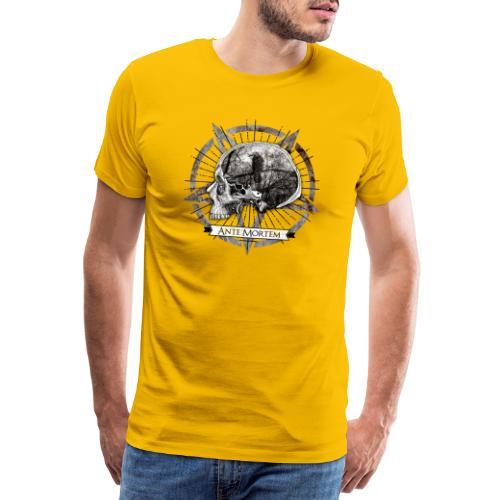 Ante Mortem Raven Skull - Maglietta Premium da uomo